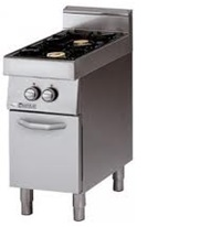 2 Gas Range on Cabinet Cooker
